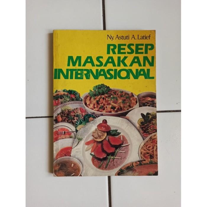 Foto Produk Buku Resep Masakan Internasional dari Toko Buku Bekas Aksiku
