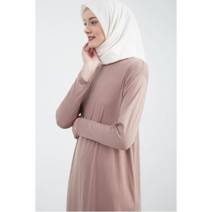 Foto Produk Berrybenka Mufida Manset Dress Milky Brown dari Shop API Testing 1