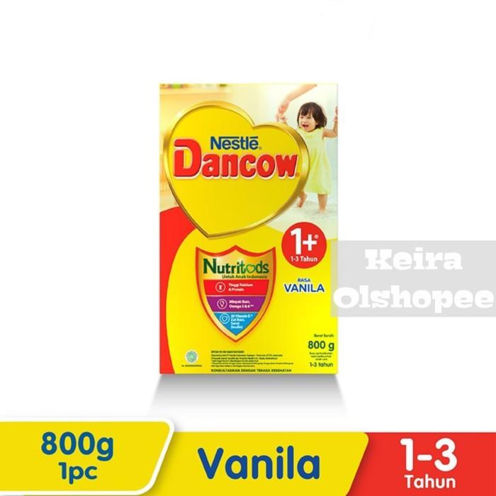 Foto Produk Susu Dancow 1+ Rasa Vanila 800 gram dari Keira Olshopee
