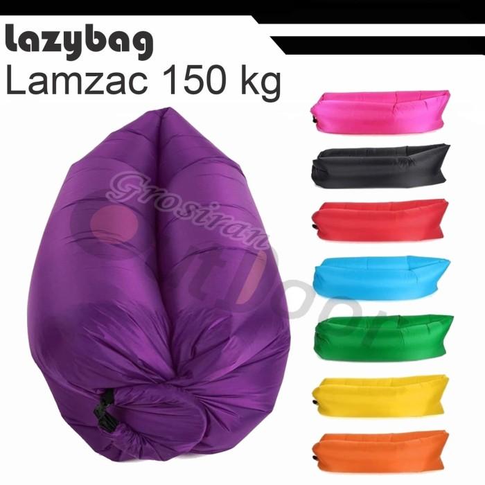 Foto Produk lazybag / lazy bag / air bed / merk L'A'M'Z'A'C 100% dari grosiran-outdoor