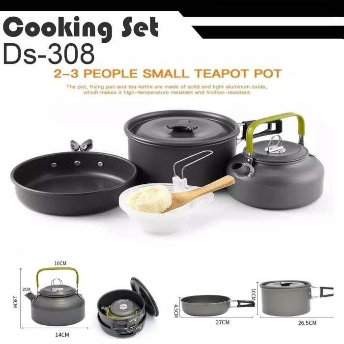 Foto Produk DS308 Nesting outdoor dengan teko portable - DS-308 Nesting Misting dari grosiran-outdoor