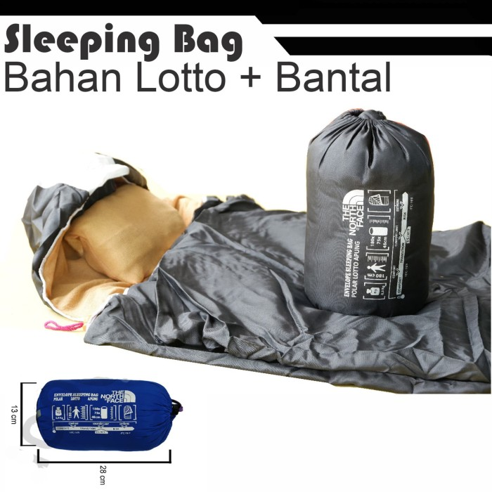 Foto Produk Sleeping bag UL + Bantal - SB - Ultralight - polar dari grosiran-outdoor