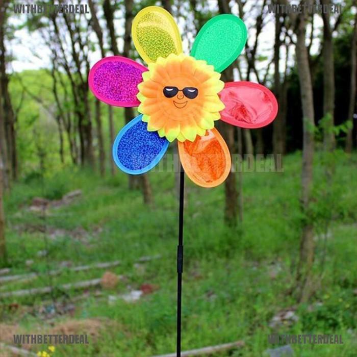 Jual Mainan Kincir Angin Bentuk Bunga Matahari Warna Warni Diy Untuk Jakarta Pusat Altra Wing Tokopedia