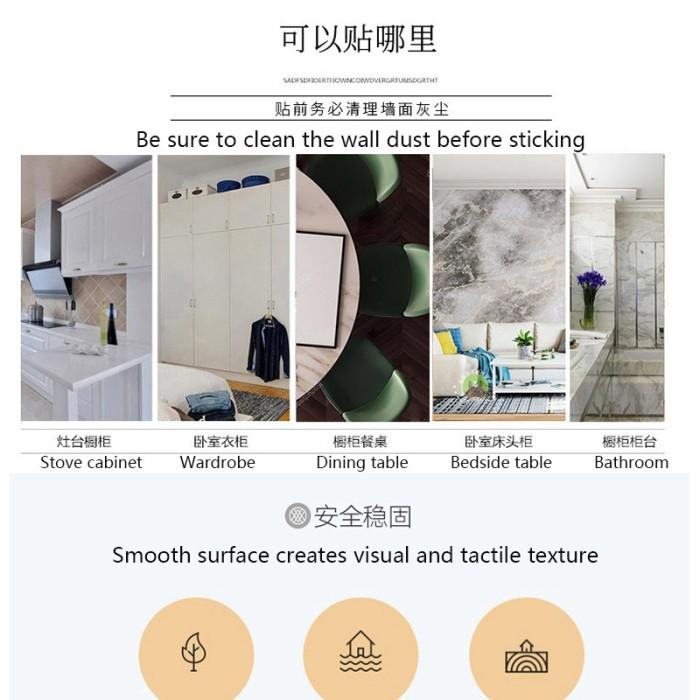 Jual Waterproof Wallpaper Living Room Tv Background Wall Self Adhesive Kab Malang Murcel Comp Tokopedia