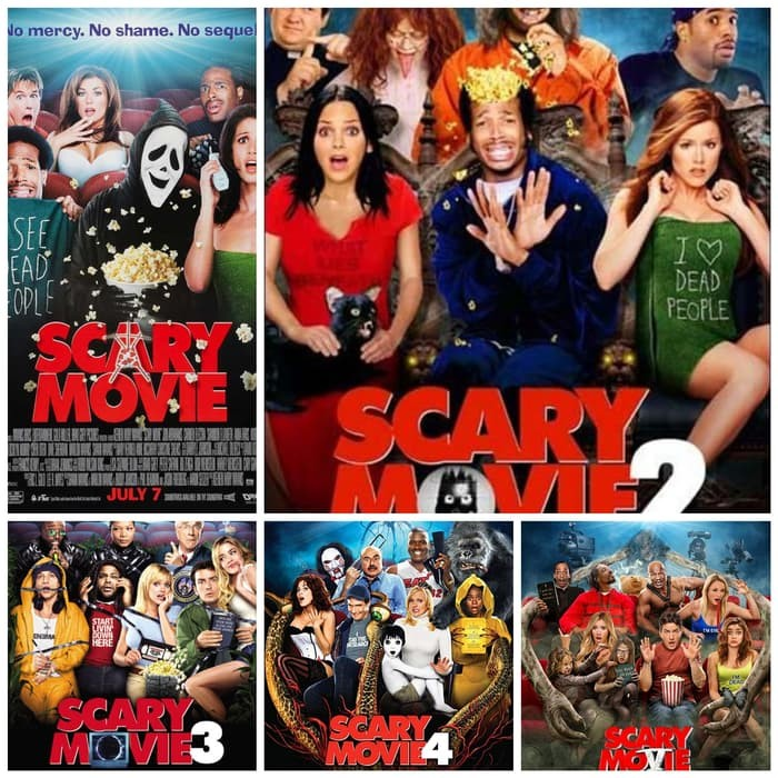 Jual Koleksi Film Dvd Scary Movie 1 5 For Dvd Jakarta Utara Giral Tokopedia
