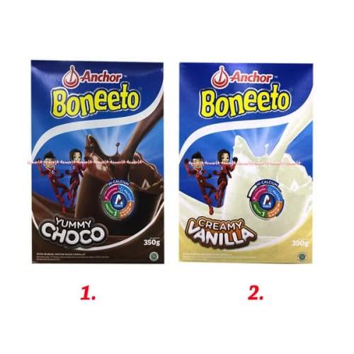 Foto Produk READY Susu Boneeto Coklat Susu Boneto Cokelat Bubuk 350gr dari iruel_shop