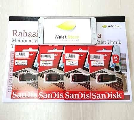 Foto Produk Paket Suara Walet 4 Flashdisk + 1 Buku dari nadira market 2020