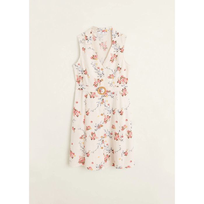 Foto Produk MANGO - DRESS SAFARI - BEIGE, L dari Mango Outlet
