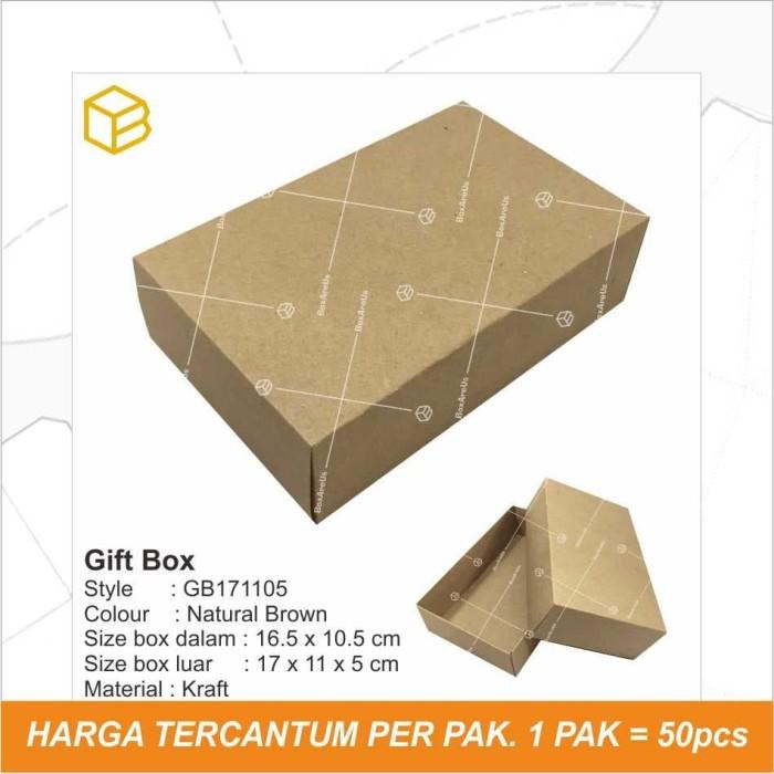 Foto Produk GB171105 / GiftBox / BOx / Dus / Packaging / souvenir Box dari Box Are Us