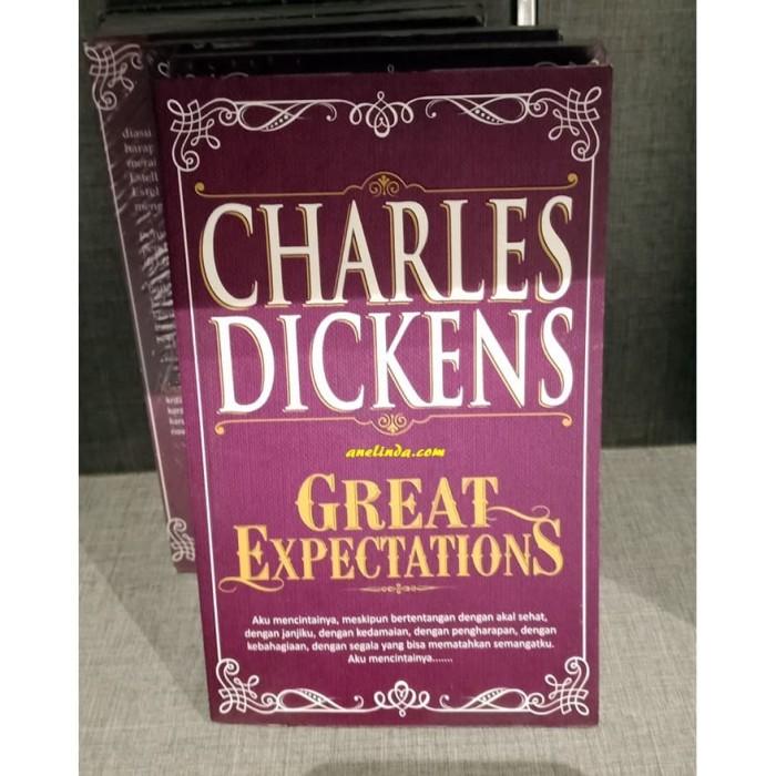 Foto Produk GREAT EXPECTATIONS - CHARLES DICKENS (EDISI BAHASA INDONESIA) dari Anelinda Buku Klasik
