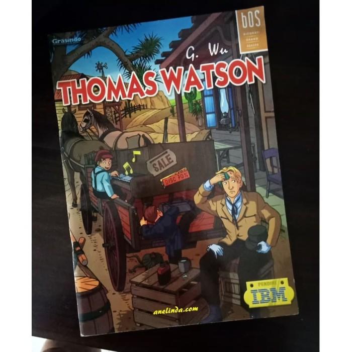 Foto Produk THOMAS WATSON - PENDIRI IBM (SERI BOS : BIOGRAFI ORANG SUKSES) dari Anelinda Buku Klasik