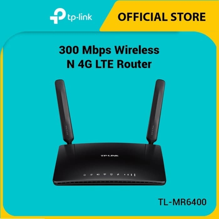 Foto Produk TP-LINK Wireless Router 3G / 4G TL-MR6400 dari TP-Link Official