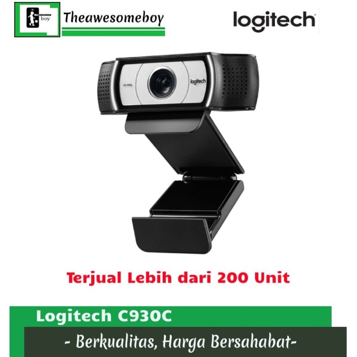 Foto Produk Logitech C930E 1920x1080 HD Carl Zeiss Lens Webcam Digital Zoom Skype - C930C dari Theawesomeboy