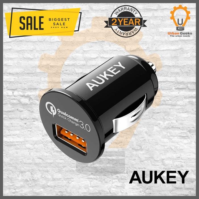 Foto Produk Aukey Car Charger Mobil 1 Port Quick Charge 3.0 CC-T13 alt Anker dari Urban Geeks