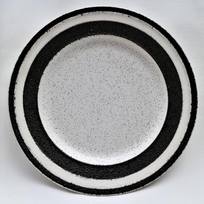 Foto Produk Artisan Ceramic | White Speckle Black Side Plate | Piring Keramik dari Artisan Ceramic