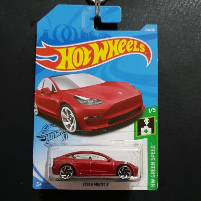 Jual Hot Wheels Hot Wheels Tesla Model 3 Merah Red Kab Tangerang Srf Toys Tokopedia