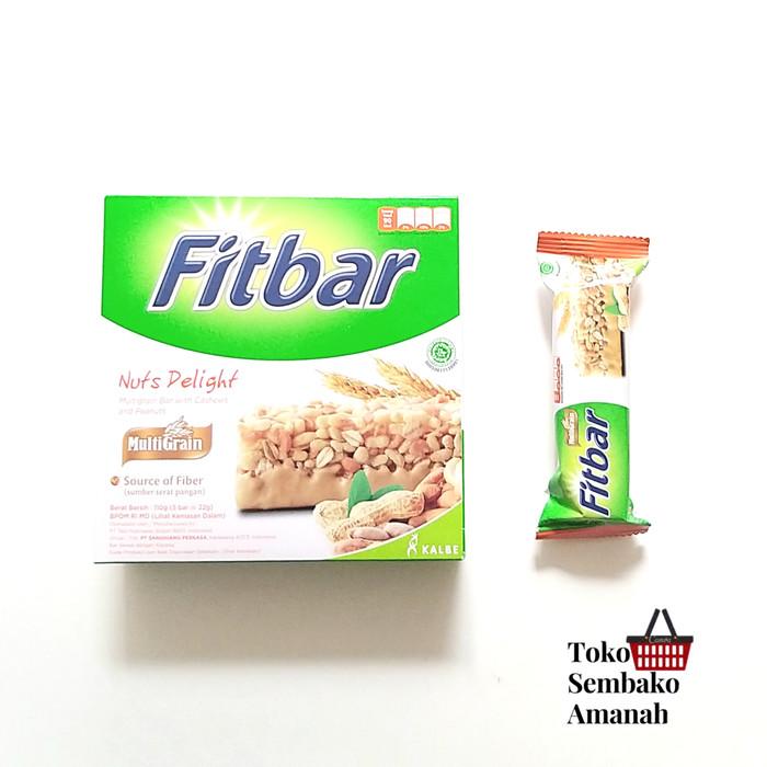 Foto Produk Fitbar Nuts Box 5x 22g dari Sembako Amanah20