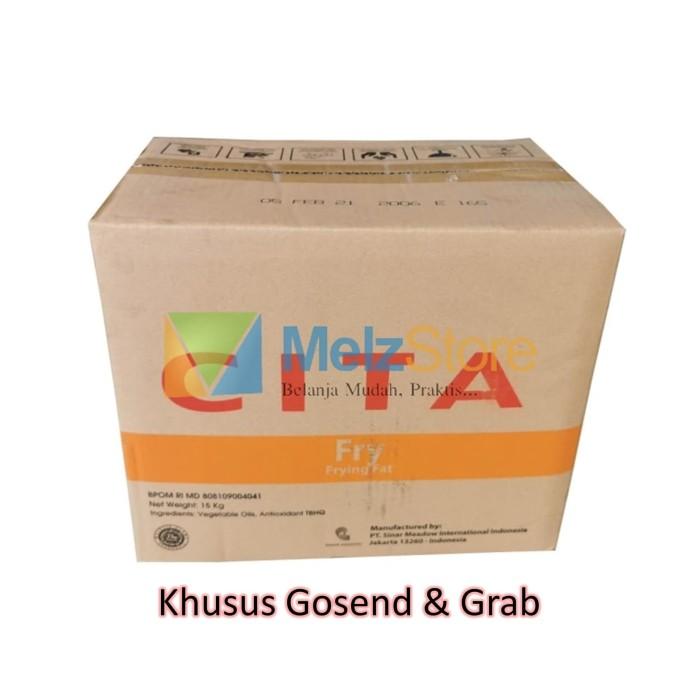 Foto Produk Cita Fry Minyak Goreng Padat Beku 15kg Only Gosend & Grab dari MelzCorp