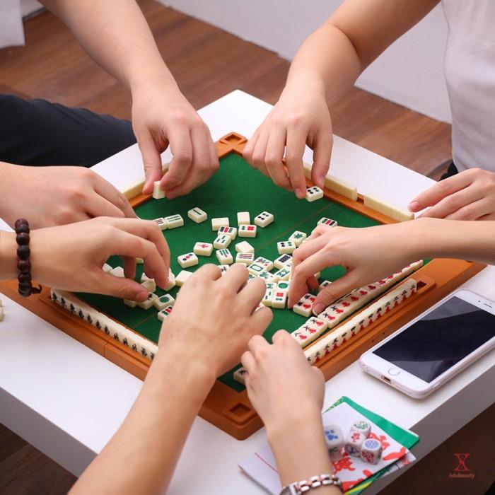 Jual 6in1 Set Permainan Mahjong Cina Tradisional Mini Dengan Meja Lipat Kab Bogor Halycon Shop Tokopedia