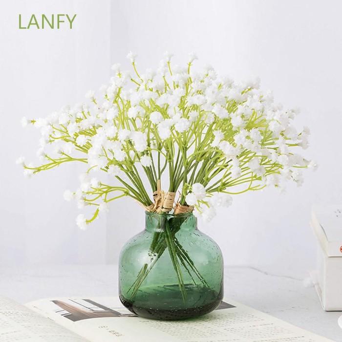 Jual Lanfy Floral Diy Bouquets Home Decor Wedding Artificial Flowers Jakarta Pusat Bluelight Seller Tokopedia
