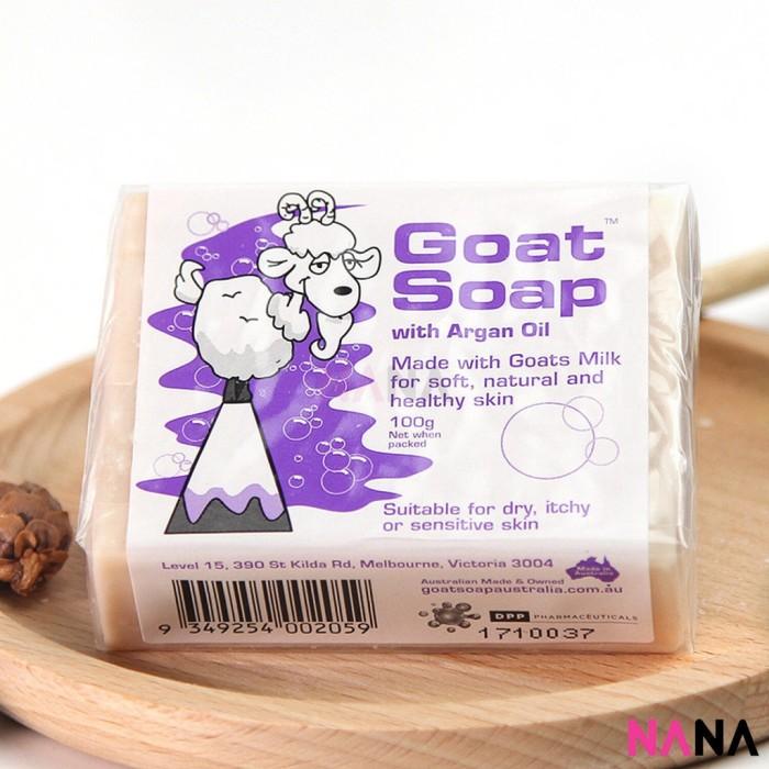 Foto Produk Goat Soap Argan Oil(Purple) 100g dari Great Verve