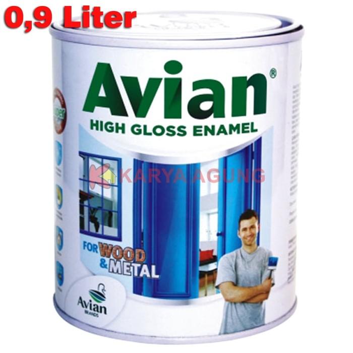 Foto Produk AVIAN Cat Kayu dan Besi High Gloss Enamel Synthetic Paint 1 KG dari Karya Agung Sulawesi