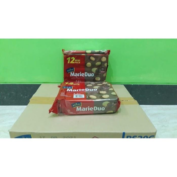 Foto Produk Biskuit Regal Marie Duo Sachet Krim Coklat Susu (12 x 20gr) dari Sumber Berkah Boga