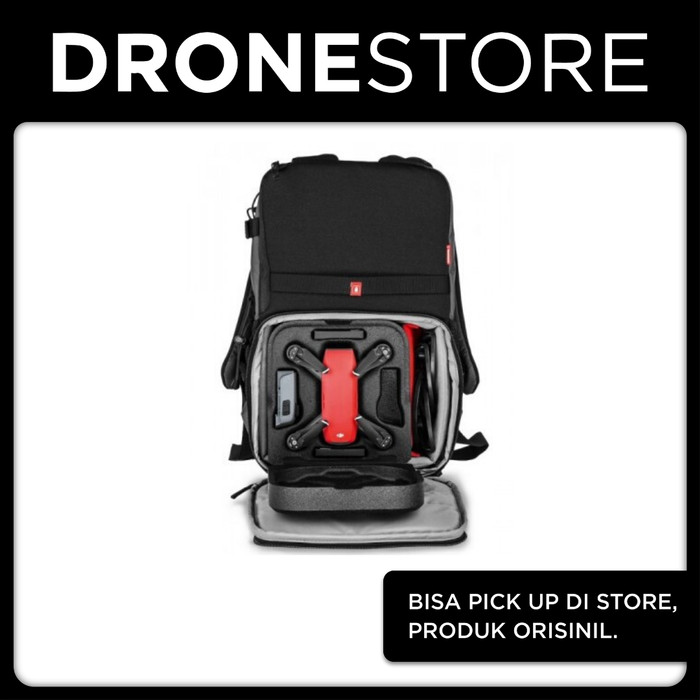 Foto Produk Tas Manfrotto NX CSC Camera/Drone Backpack Grey For DJI Mavic/Spark dari DroneStore