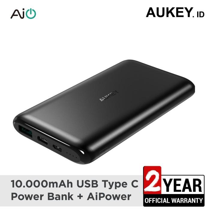 Foto Produk Aukey Powerbank 10000 mAh USB C AiQ - 500330 dari AUKEY