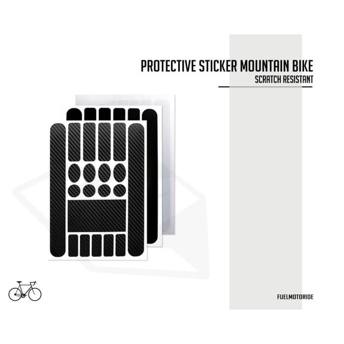Foto Produk Sticker Pelindung Protective Sepeda MTB BMX Lipat United Giant Cannon dari Fuel