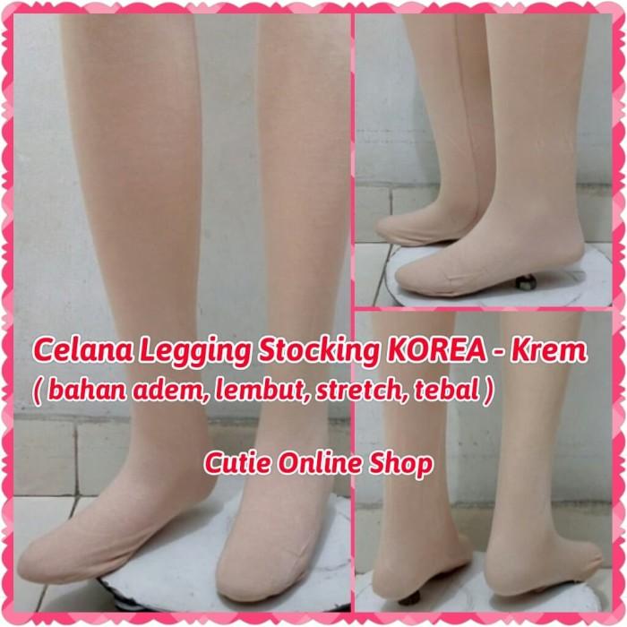 Jual Celana Legging Stocking Korea Krem Stoking Import Warna Kulit Jakarta Barat Cutie Online Shop Tokopedia