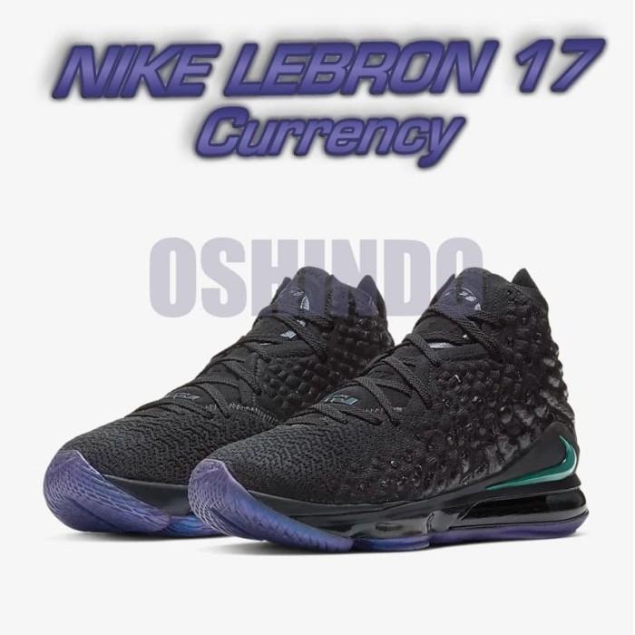 Foto Produk Sepatu Basket Nike Lebron 17 Currency Original Asli - 9 dari oshindonesia