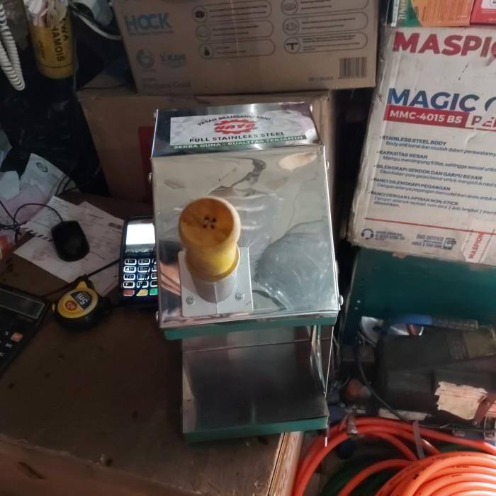 Foto Produk mesin gilingan bawang listrik mini dari majdi syarif