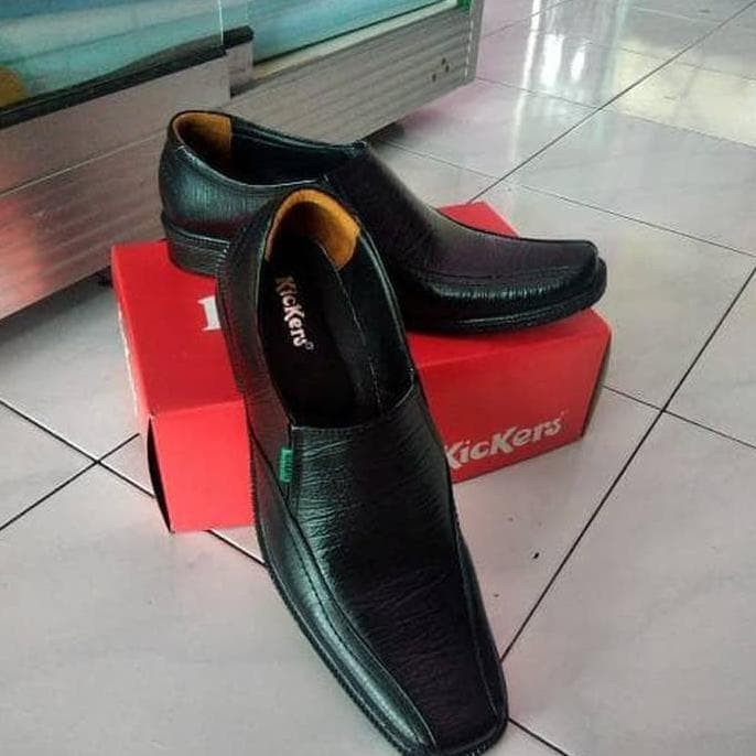 Foto Produk hoot sale Sepatu pantofel fantofel pantopel pria asli kulit - Hitam, dari januardelviandra