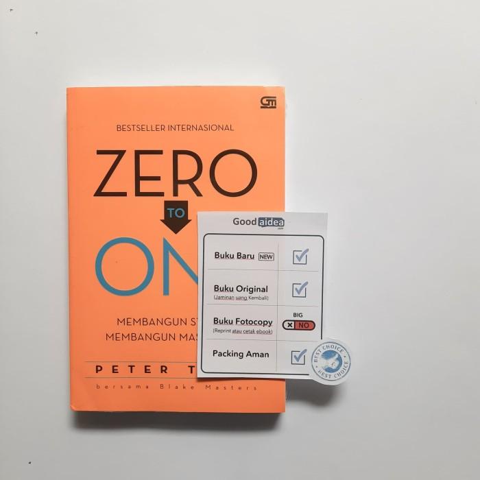 Foto Produk Buku Zero To One - Peter Thiel dari GoodAIDEA