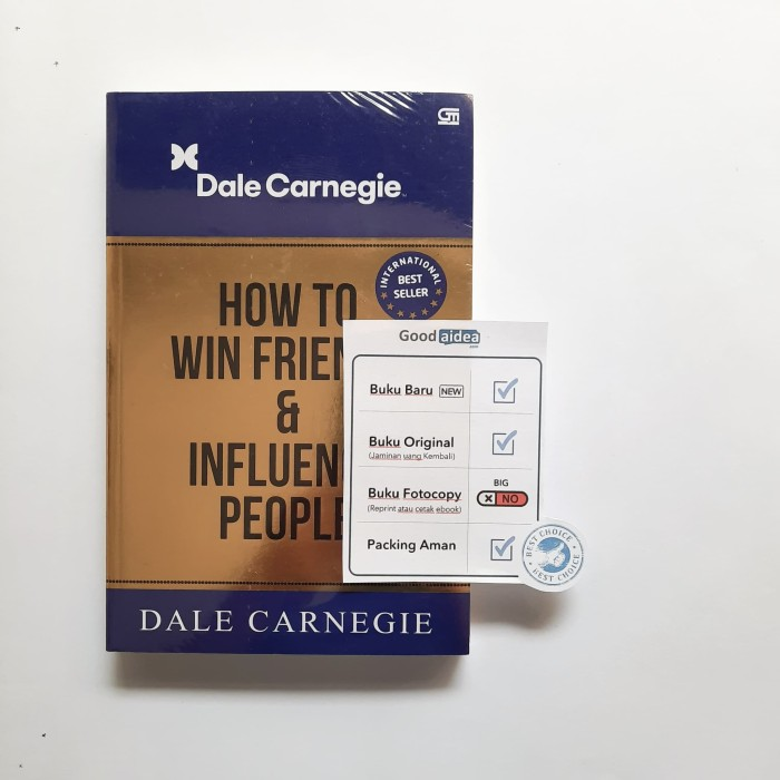 Foto Produk Buku How To Win Friends And Influence People - Dale Carnegie dari GoodAIDEA