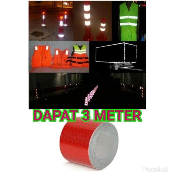 Foto Produk STICKER STIKER MEMANTULKAN CAHAYA MOBIL TRUCK PICK UP TRUK DPT 3 METER dari Bro & Sis Jakarta