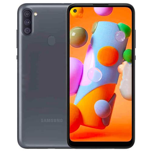 Foto Produk SAMSUNG Galaxy A11 RAM 3/32GB Garansi Resmi SEIN jelly case telkomsel - Hitam dari Seven Dream Store