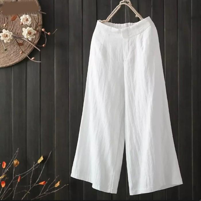 Jual Celana Wanita Merry Kulot Celana Legging Putih Jakarta Barat Wan Fashion96 Tokopedia