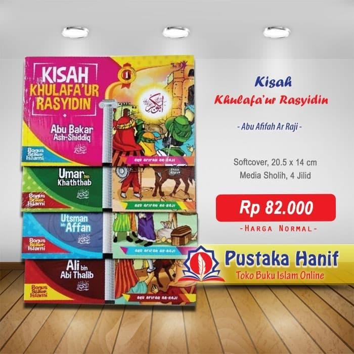 Foto Produk Buku Kisah Khulafaur Rasyidin Lengkap 4 Jilid - Cerita Anak Muslim dari Pustaka Hanif