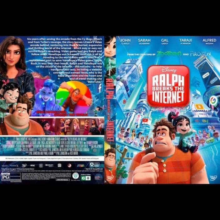 Jual Dvs Film Ralph Breaks The Internet 2018 Jakarta Barat Passtilaku Store Tokopedia