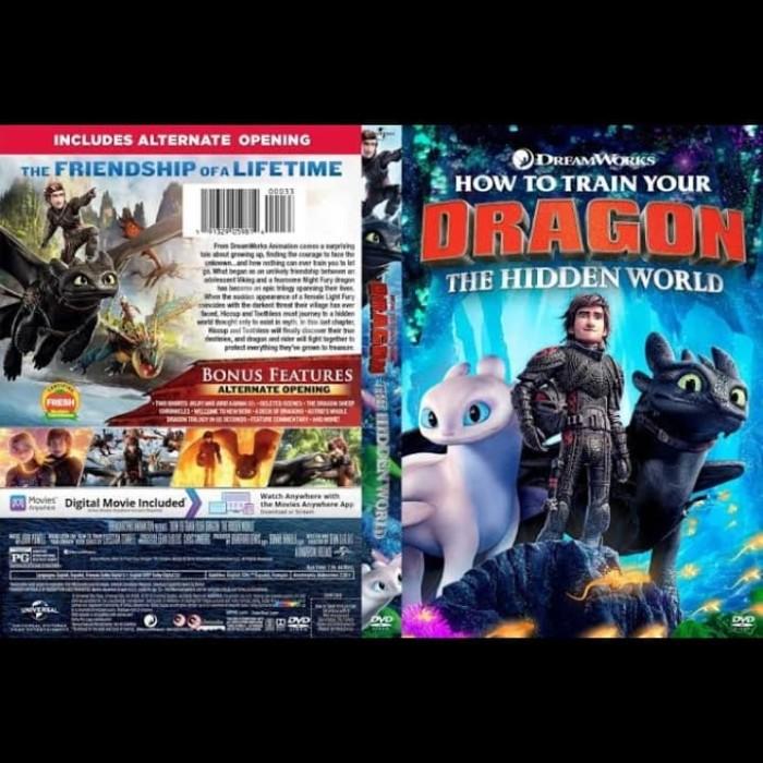 Jual Dvd Film How To Train Tour Dragon The Hidden World 2019 Jakarta Barat Passtilaku Store Tokopedia