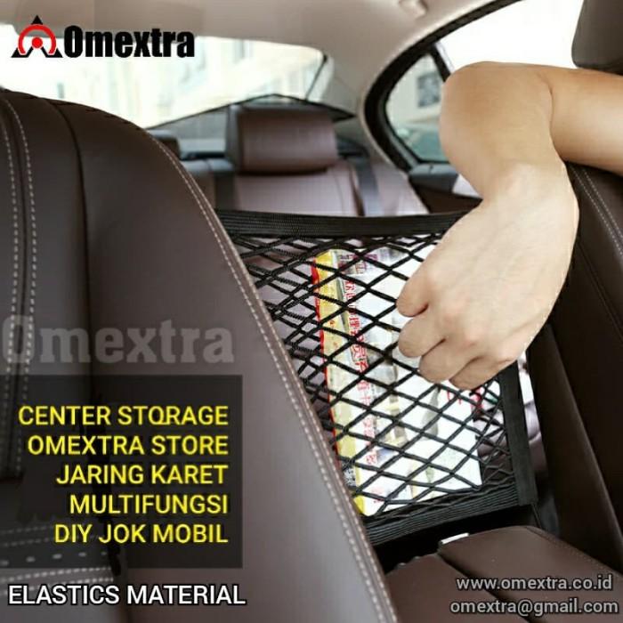 Foto Produk Center Storage Net Omextra Karet Jaring Kantong Jok Mobil Multifungsi dari OMEXTRA