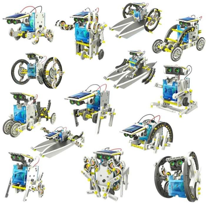 Jual 13 in 1 Solar Robot Educational Kit DIY Mainan ...