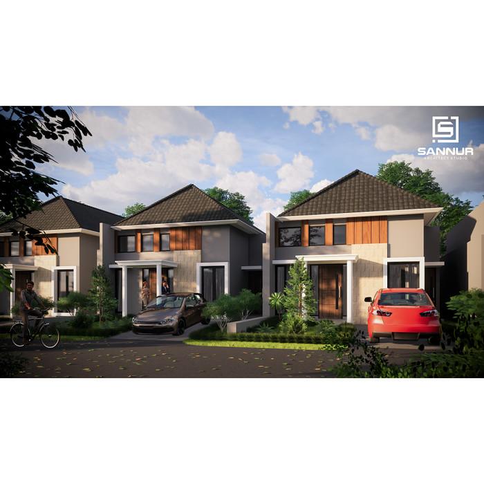 Foto Produk Produk Jadi Desain Rumah minimalis 1 lantai tipe 55 dari Sannur Arsitek