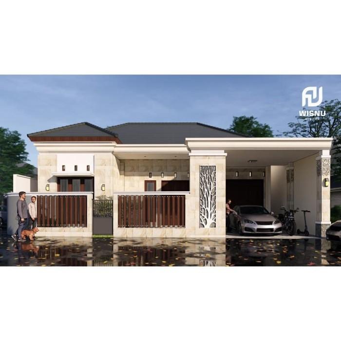 Jual Produk Jadi Desain Rumah Minimalis 1 Lantai Ukuran 15 X 13 Meter -  Kab. Kediri - Sannur Arsitek | Tokopedia