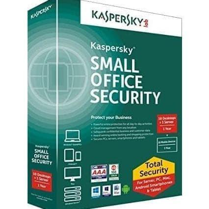 Jual Hoot Sale Kaspersky Small Office Security 10 User 1 File Server Jakarta Selatan Donald56 Tokopedia