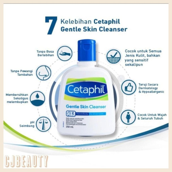 Jual Terlaris Cetaphil Gentle Skin Cleanser 1000ml 1litre 1 Liter Jerawat Jakarta Barat Alfin Kosmetik Tokopedia