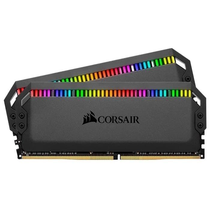 Foto Produk DOMINATOR PLATINUM RGB 32GB 2 x 16GB 3200MHz C16 CMT32GX4M2C3200C16 dari PT. RNN
