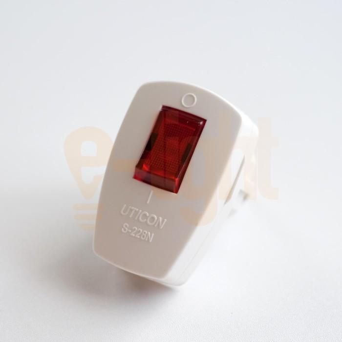 Foto Produk Steker Lampu Uticon S228 S 228 Berkualitas Original dari e-light